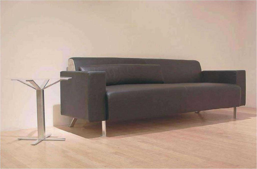 "Vero Sofa, Christian Biecher ""I wanted to have a very well-drawn sofa and armchair,"" says Christian Biecher of the initial inspirations for his Vero sofa"