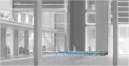Integrated water design for ING Bank, Amsterdam