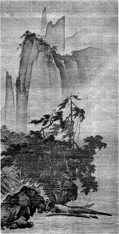 Prototype of Ting Yuan and Yuanlin — Chinese Landscape Painting Theory