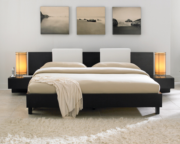 100 thoughts for a bedroom; examples with a photo - interiors, beds, registration