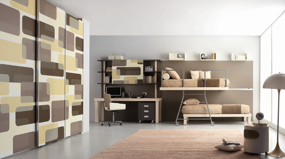 Two-story beds; photocatalogue of 2012 Tumidei companies