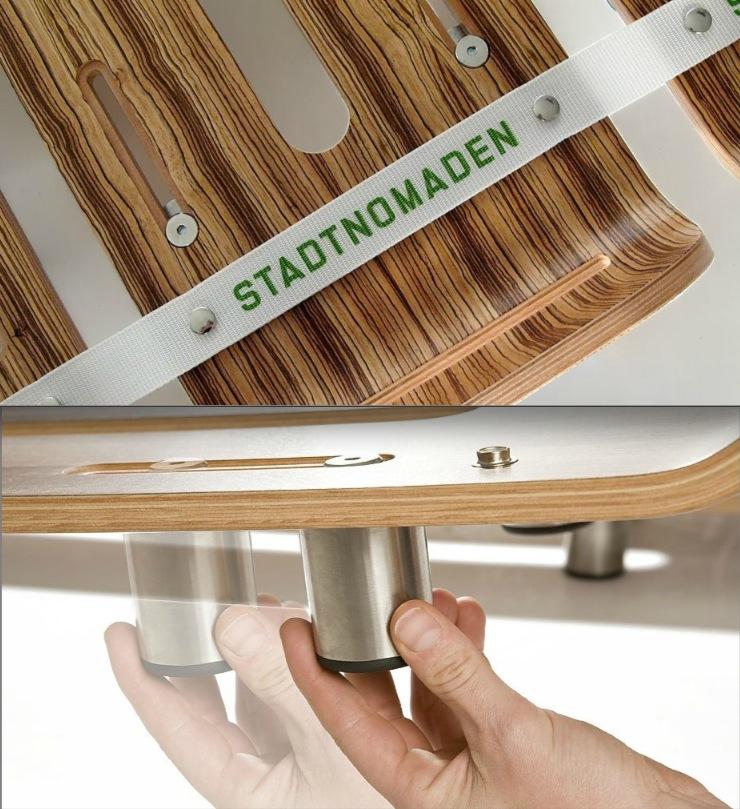 Modular furniture of Stadtnomaden