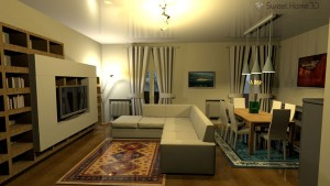 Sample of free programs for interior design. With a preview and descriptions