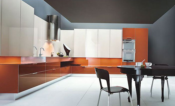 The most prestigious color of 2012 in furniture and an interior