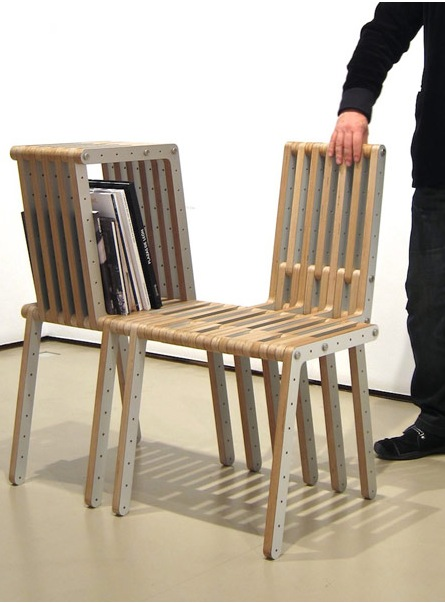 Collapsible furniture designer the hands