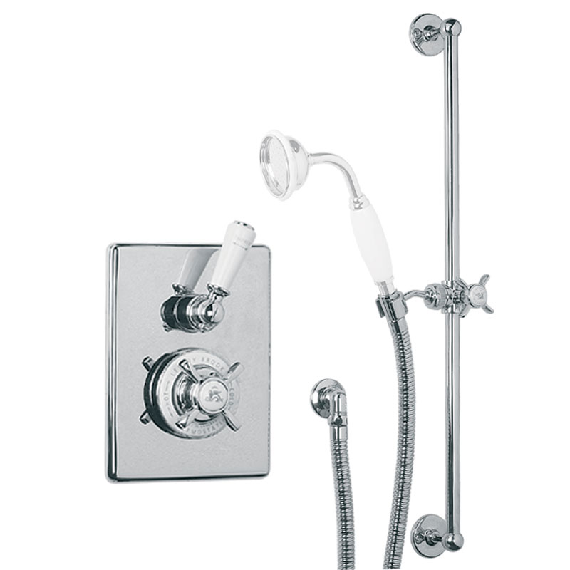 Mixers for a bathroom in a retro style from Lefroy Brooks