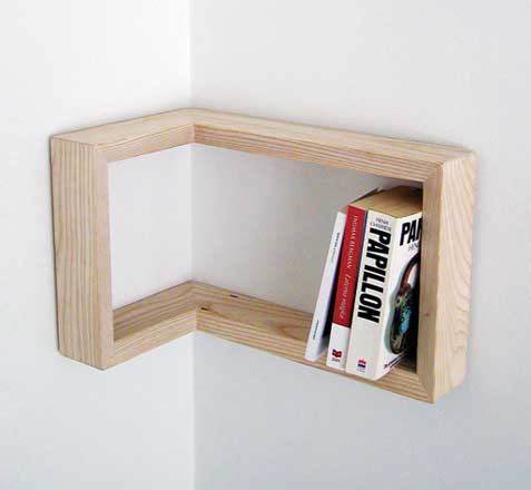 Angular shelf