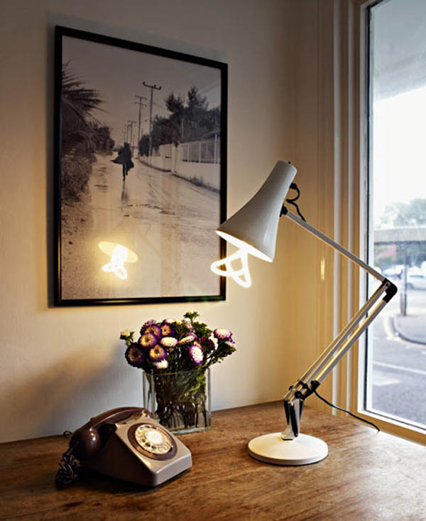 Energy saving lamps. Save up with taste