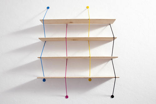 Easy book shelves