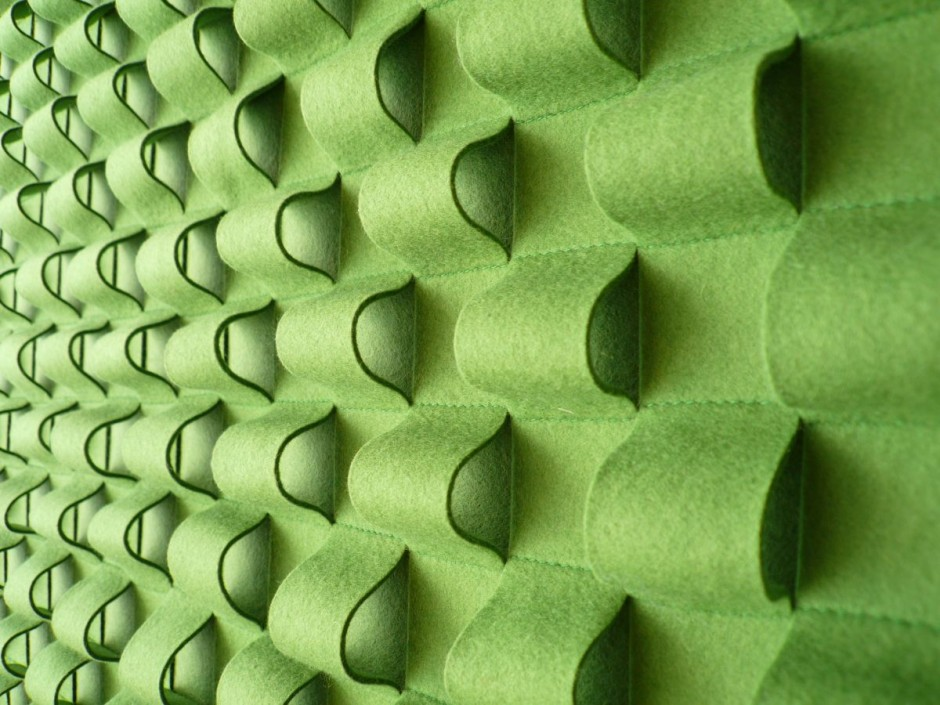 Wall Panels From Felt Furniture Design Ideas
