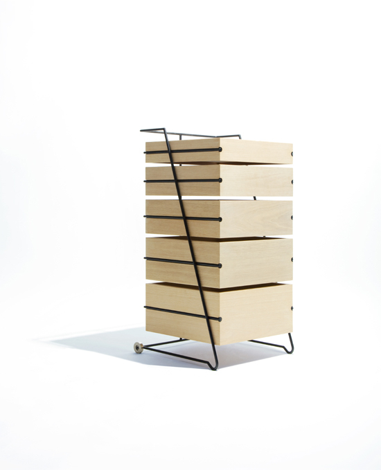 Weightless dresser
