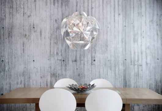 Wall-paper for walls in a modern interior