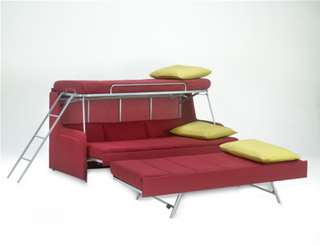Folding beds. Various models