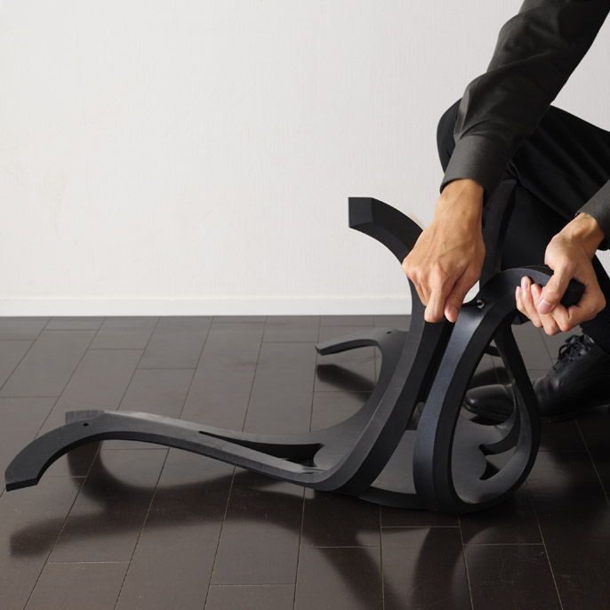 Shock-proof Japanese stool