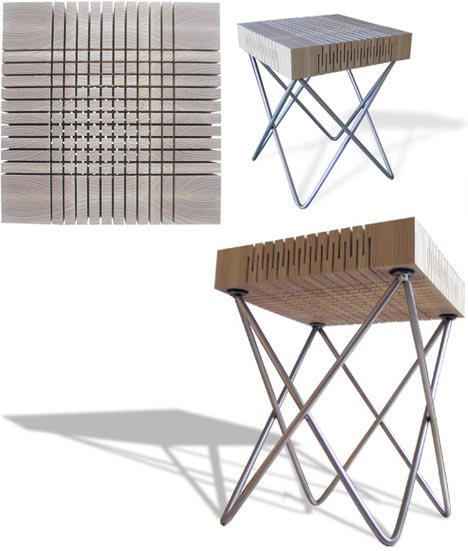Elastic stool