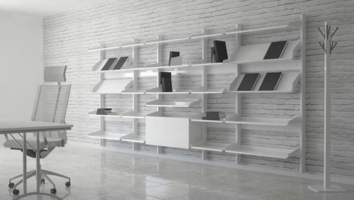 Folding modular racks