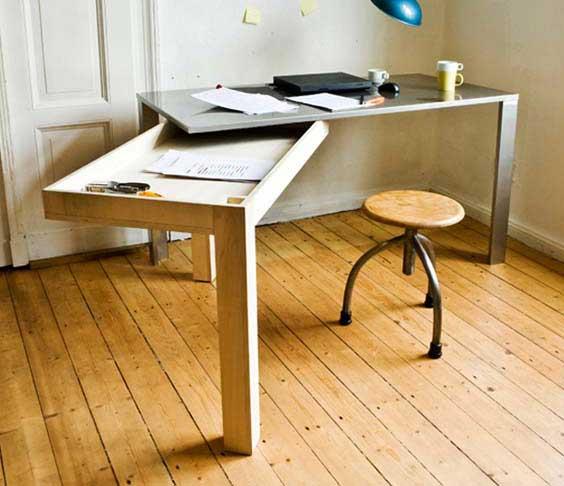Sliding desk