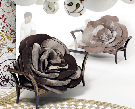 Sicis Next Art Furniture - a decadence and a fantasy