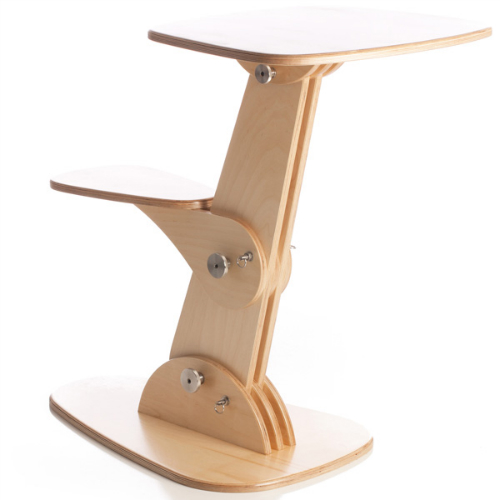 Folding table for the laptop