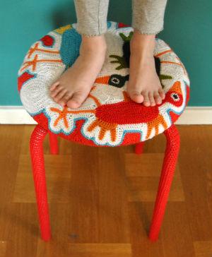 Tuning of an IKEA stool