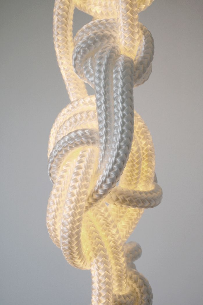 Ropes with LED illumination from Christian Haas