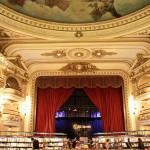 Interior design of a bookshop
