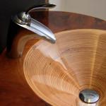 Wood sinks
