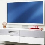 Uppleva the integrated media center with the HD TV from IKEA