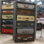 Dressers from starenky suitcases
